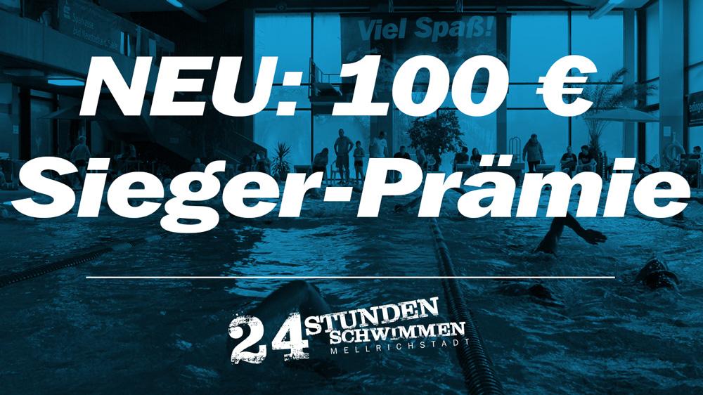 NEU: 100 € Sieger-Prämie