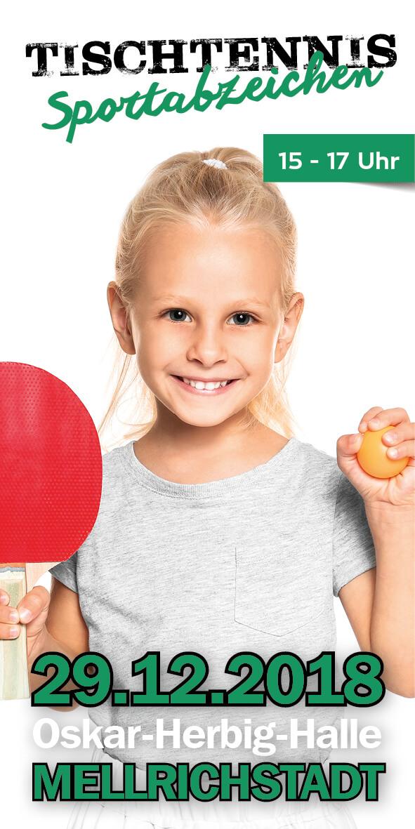 Tischtennis-Sportabzeichen