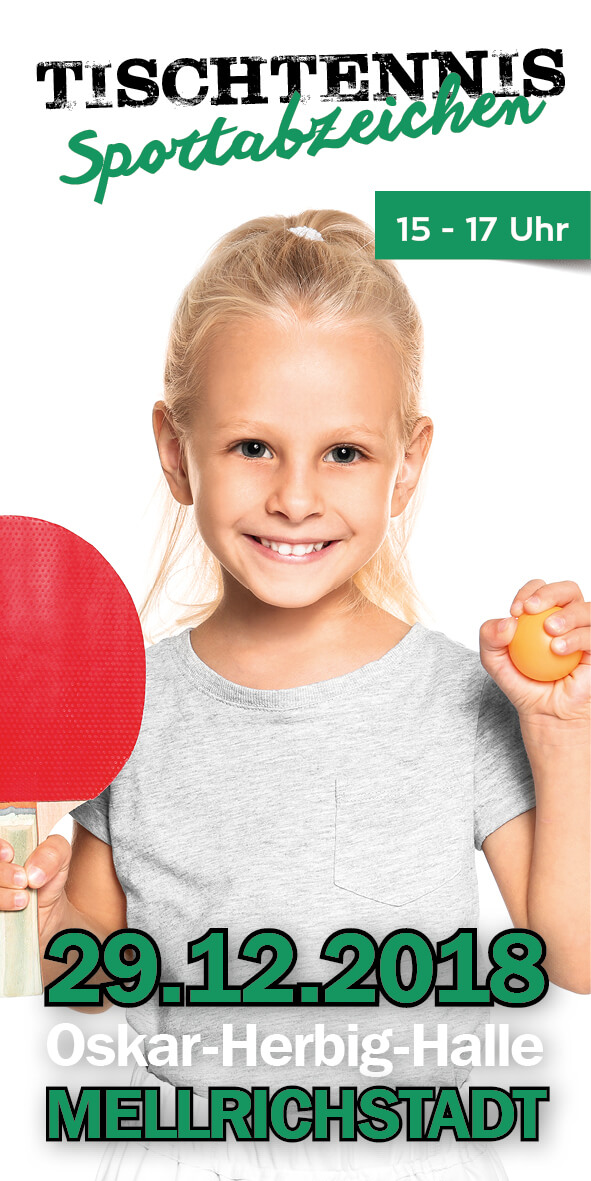 Tischtennis Sportabzeichen